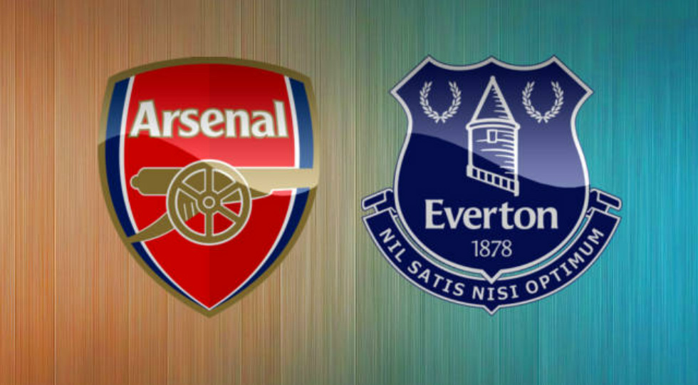 jadwal arsenal vs everton