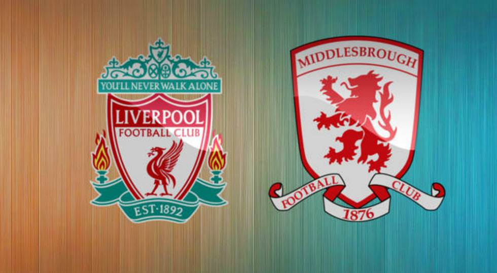 jadwal liverpool vs middlesbrough